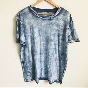 American Eagle XL Blue Tie-dyed tee